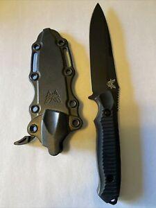 Benchmade 140 Nimravus BK Fixed Blade Knife w/ Kydex Sheath