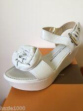 """Fab K&S """"Shilo"""" ladies white platforn sandals, EU 36, RRP £129.00, BNIB"""