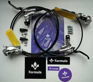 Formula - Brake set Formula CURA Silver polish front+rear ready 2 use FD94175-CP