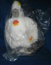 """STEIFF Starly Cockatoo #063824, White with Yellow Feathers, 11""""  NOS"""