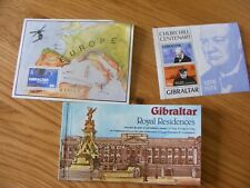 GIBRALTAR ROYAL RESIDENCES SOUVENIR BOOKLET, CHURCHILL MINI SHEET EUROPA (BK1)