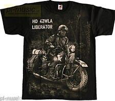 = T-shirt LIBERATOR HD 42 WLA -koszulka L size - FULLPRINT motorcycle //military