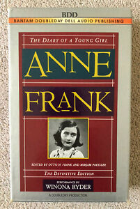 The Diary of a Anne Frank by Anne Frank (1995, Audio, Cassettes)