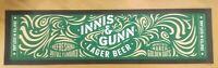 new innis & gunn lager pub beer home drink drip bar runner coaster man cave *