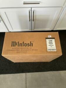 McIntosh C-46 Solid State Pre-Amp In Factory Sealed Box