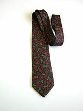 E'... GUIDO TONELLO Torino  Vintage 80 Paisley SETA  SILK MADE IN ITALY