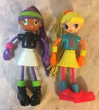 BETTY SPAGHETTY Spaghetti Doll 2 McDonald's Happy Meal Toy Figures Girls
