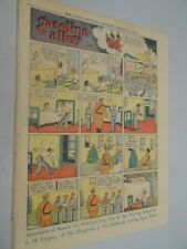 Sunday Comics- Feb.24th 1935- The Oregonian- Gasoline Alley - Winnie Winkle