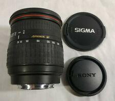 SIGMA Aspherical IF 28-300mm f3.5-6.3 DL Hyper Zoom Lens A Mount