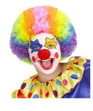 Parrucche e barbe multicolore per carnevale e teatro taglia taglia unica, sul clown e circo
