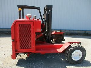 Moffett mounty M2275 truck mounted forklift 2275kg lift poultry spec delivery