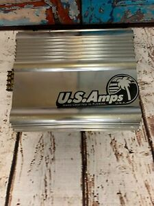 ULTRA ULTRA RARE! US Amps 24DB Xterminator 100X 2 Channel High Current Amplifier