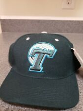 017bfd37b15 Tulane University Fitted Hat Cap Size 7 1 4 Zephyr Green Wave NWT TU