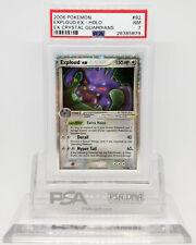 Pokemon EX CRYSTAL GUARDIANS EXPLOUD EX #92 HOLO FOIL CARD PSA 7 NM #28385879