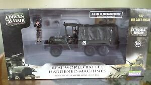 1/32  FORCES OF VALOR  US 6X6  81012  WWII  ORIGIN BOX NO OPENED UNIMAX