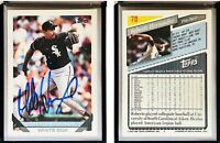 Roberto Hernandez Signed 1993 Topps #70 Card Chicago White Sox Auto Autograph