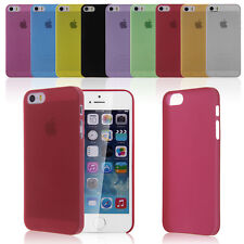"COVER SLIM 0,3 mm Custodia Cellulare Bumper Per iPhone 5 5S 5C 6 4.7"" Plus 5.5"""