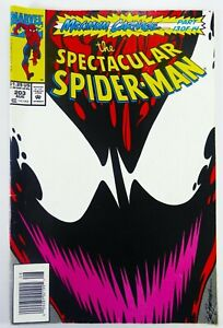 Marvel SPECTACULAR SPIDER-MAN (1993) #203 Rare Newsstand VG/FN Ships FREE!