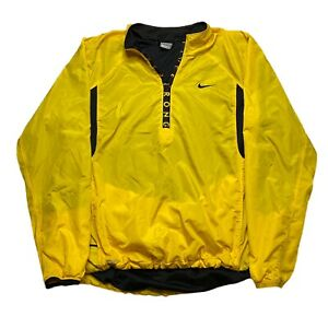 Vintage Nike Livestrong Windbreaker Jacket Yellow Size XL