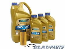 BMW Oil Change Kit 535d 740Ld X5d (F10 F02 F15) 3.0L I6 Diesel 2014-15 LL-04 Oil