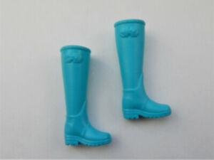 Mattel Barbie Fashionistas original Schuhe Stiefel schwarz NEU