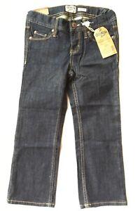 OshKosh Bgosh Straight Jeans Girls Size 5 P Premium Denim MSRP $34.00 New NWT