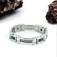 Authentic Pur life Negative Ion Bracelet ELEGANT CARBON POLISHED CABLE PURLIFE