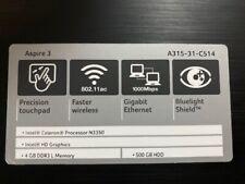 """Acer Aspire 3 A315-31-C514 15.6"""""""