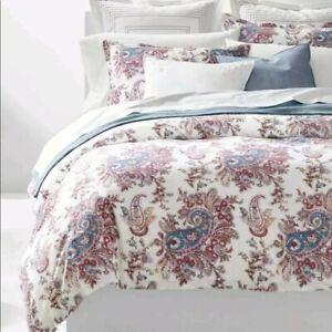 NIP Ralph Lauren *JULIET* PAISLEY 3PC FULL/QUEEN cotton Duvet Cover Set R$270