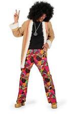 Hippiekostüm 70er 80er Jahre Anzug Kostüm Flowerpower Herren Hippie Party Disco