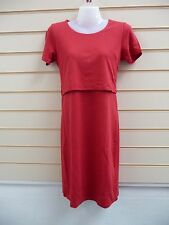 DRESS SIZE 14 RED LAYERED DETAIL JERSEY BODYFLIRT   BNWOT