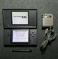 Nintendo DS Lite Console Onyx Black with Charger and Stylus