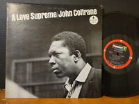 John Coltrane - A Love Supreme Elvin Jones McCoy Tyner 1970 Misprint VG+!