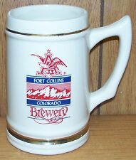 1989 A-B TOUR CLYDESDALE DEDICATION MUG ~ ANHEUSER-BUSCH ~ FORT COLLINS, COLO.