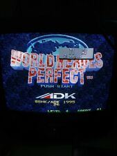World Heroes Perfect Neogeo MVS