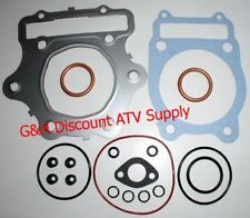 Honda TRX350 350D Top End Gasket Kit Fourtrax Engine 350 Foreman Gaskets Set