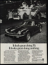1972 TRIUMPH GT-6 Sports Car - Feels & Looks Great Doing 70 & Nothing VINTAGE AD