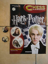 Bn Harry Potter Chess Magazine No. 45 With Magnetic Pins