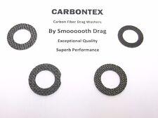 DAIWA REEL PART Sealine 50H - (4) Smooth Drag Carbontex Drag Washers #SDD113