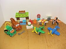 Lego Duplo Disney Cars Planes Lot Dusty Chug Chupacabra Mater's Shed Ripslinger