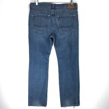 Bullhead Denim Mens 36 x 32 Jeans Skinny Leg Medium Wash Cotton Actual 34 x 30.5