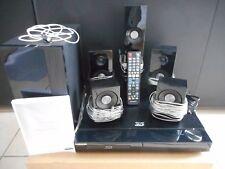 ensemble combiné HOME CINEMA 5.1 LECTEUR DVD BLU RAY 3D CD complet occasion