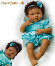 "Ashton Drake ""DESTINY""-""HOLD THAT POSE"" LIFELIKE BABY GIRL DOLL -NEW-IN STOCK !"