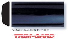 "1"" x 16' Roll Universal Smooth Gloss Black Trim-Gard Body Side Molding"