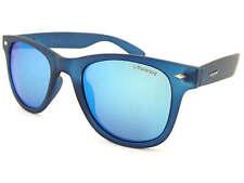POLAROID polarized Sunglasses Dark Blue Trans/ Blue Mirror Lens PLD6009S UJO JY