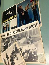 BEATLES cuttings  clippings vintage 60'S ritagli