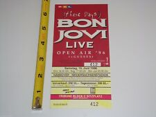 BON JOVI 1996 CONCERT GIG TOUR TICKET Jon OPEN AIR '96 GERMANY GIG