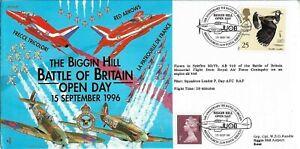 GB 1996 Spitfire Btl Britain Mem.Flt Flown Biggin Hill Battle of Britain Open Da