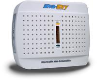 New! Eva-Dry Renewable Mini-Dehumidifier 100 volts Eco-friendly Silent E-333