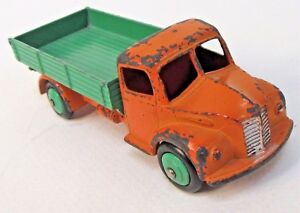 1950's Dinky #414 DODGE REAR TIPPING WAGON TRUCK  orange & green diecast x